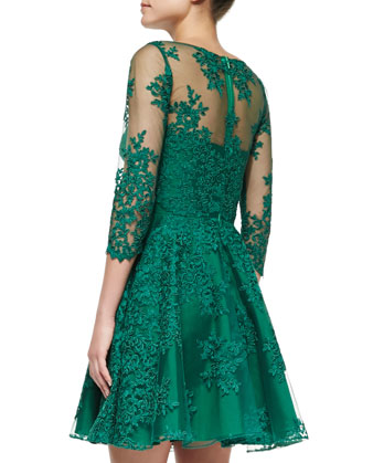ML Green Dress